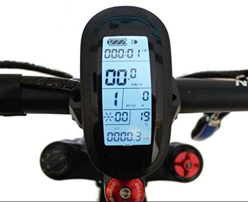 Latest Design 48V LCD6 Display Meter/Control Panel For E Bike DIY Conversion Kit Parts