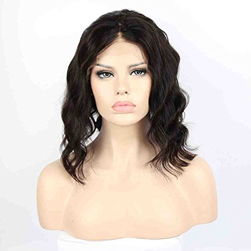 Ybhair Lace Front Wigs  Human Hair Virgin Brazilian Hair 130  Density Remy 100  Human Hair Body Wave Hair Wigs With Baby Hair For Black Women 10