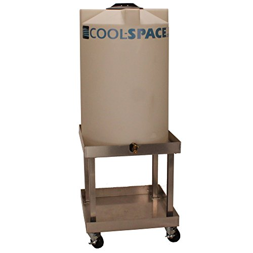Cool-Space CS-AC125 70 gal Portable Water Tank and Base for Use with Evaporative Coolers