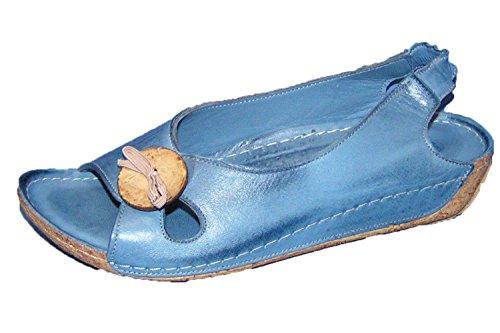 Gemini Sandalo Donna Scarpe Blu Gattino 32030-808
