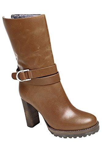 Botas Zapatos 36 Marrón Cuero Mujer BRUNELLO CUCINELLI xXOHqFg