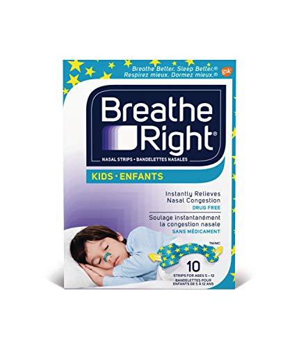 Glaxo Smithkline Consumer Breathe Right Kids Nasal Strips (10 Strips per Box)