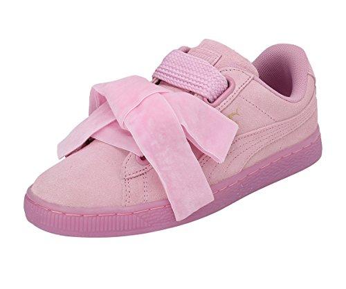 Puma - Zapatillas de deporte de Ante para mujer rosa rosa 35.5 EU