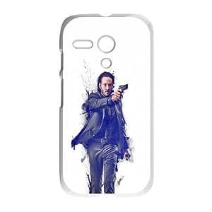 Motorola G Cell Phone Case White_hc87 john wick movie poster art actor Dlctu