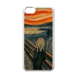 Scream iPhone 5c Cell Phone Case White Y3410579
