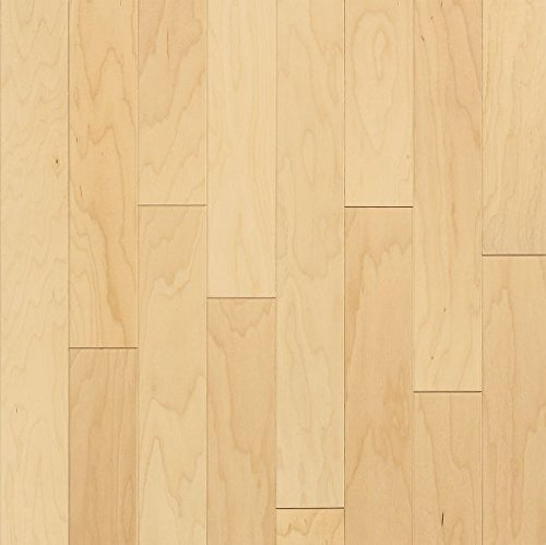 5 Maple Natural Hardwood Flooring - Bruce Hardwood Floors E4500Z Turlington American Exotics Maple Engineered Hardwood Flooring, 5
