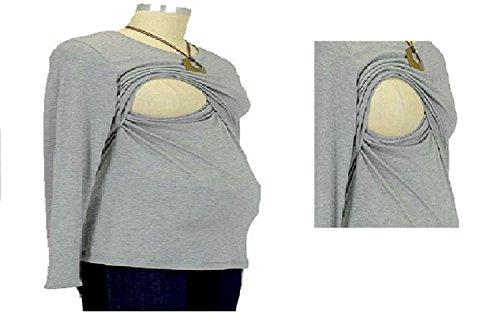 BabyTENS - Camisas - para mujer Gris