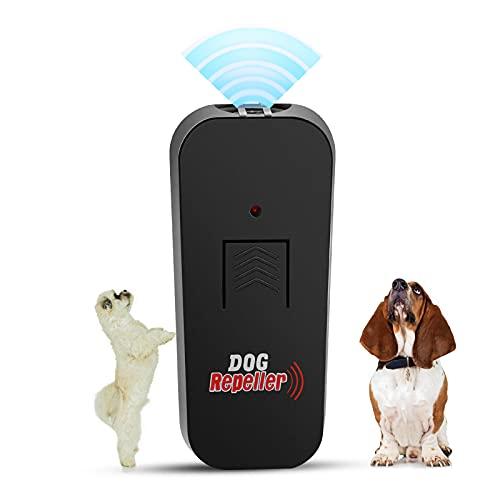 Skyteelor Ultrasonic Dog Barking Deterrent 2 in 1 bark Control Device & Anti Barking Device,32.8Ft Ultra-Wide Range…