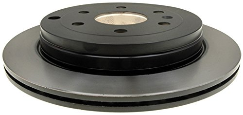 (ACDelco 18A2543 Professional Rear Drum In-Hat Disc Brake Rotor)
