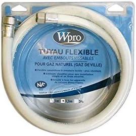Whirlpool–Manguera Gas Nat puntas vulgares 1,50m (validez 10años)