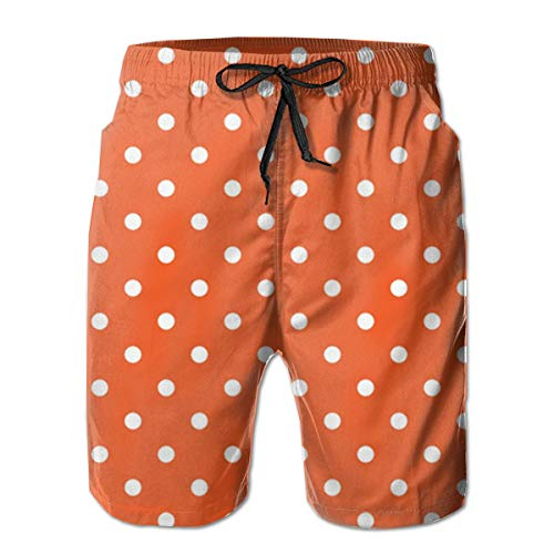 Orange Polka Dots Men