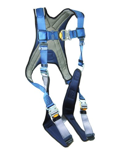 3M DBI-SALA ExoFit 1107981 Vest Style Harness, Back D-Ring,