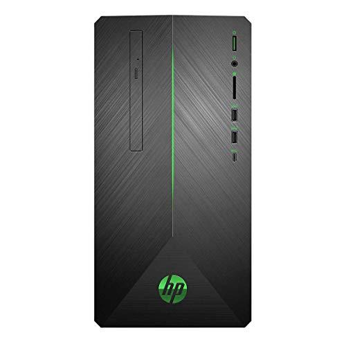 HP HP3LA37AAR Pavilion 690-0067C Gaming Desktop, AMD Ryzen 7 1700 3.0GHz, 16GB DDR4, 1TB SATA HDD, DVD, AMD Radeon RX 550 4GB, 802.11ac, Bluetooth, Win10Home (Renewed)