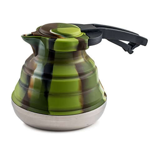 LevelOne-Collapsible-Silicone-Outdoor-Camping-Kettle