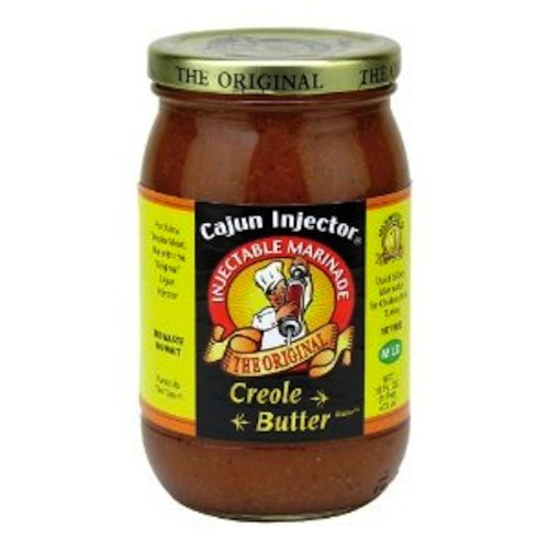 Cajun Injector Creole Butter, 16 Ounce (Pack of 3)
