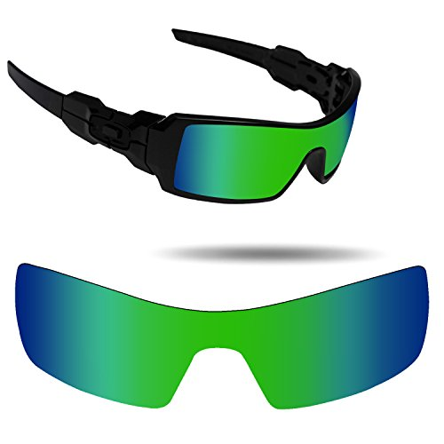 Fiskr Anti-Saltwater Replacement Lenses for Oakley Oil Rig Sunglasses - Various Colors by Fiskr