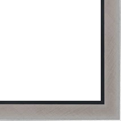 amazon com 11x17 11 x 17 stainless steel silver with black lip