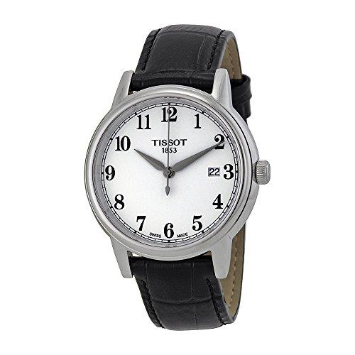 Tissot Men's T0854101601200 Carson Analog Display Swiss Quartz Black Watch