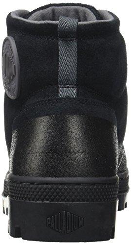 Hikr Sneaker Nero Black Uomo Alto M Black Plboss a Palladium Collo 5gSHnt