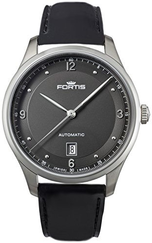 Fortis Tycoon Date P.M. Automatic Stainless Steel Mens Strap Watch Date 903.21.11.L.10