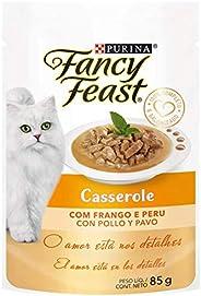 NESTLÉ PURINA FANCY FEAST Ração Úmida para Gatos Casserole Frango & Peru