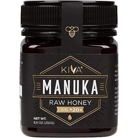 Kiva Raw Manuka Honey, Certified UMF 20+ (MGO 850+) - New - Sale: $47.4 USD (27% off)