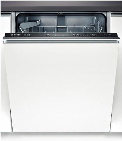Bosch SMV41D10EU lavavajilla - Lavavajillas (Totalmente integrado, Color blanco, Botones, 48 Db, 195 min, Economía, Prelavado, Rápido)