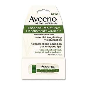 Aveeno Lip Conditioner Essential Moisture SPF#15 .15 oz.