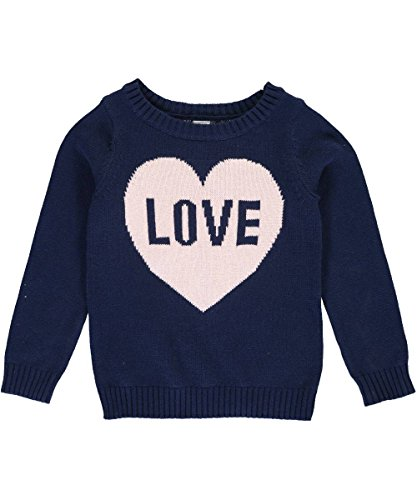 Carter's Girls' Sweater 273g625, Navy, 5 by Carter's (Image #3)