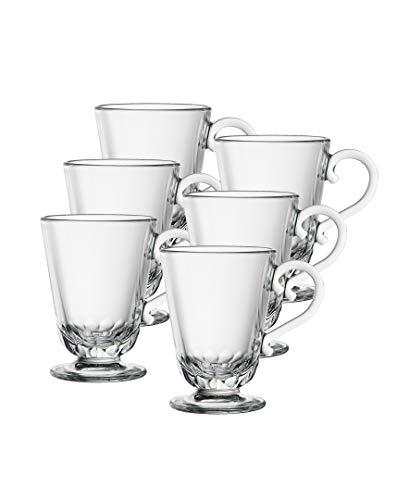 La Rochere Set Of 6, 9-ounce Louison  Coffee Mugs