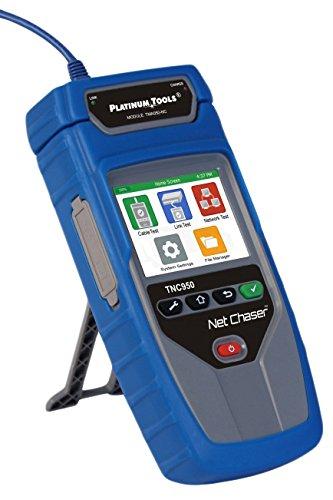 Platinum Tools TNC950AR Net Chaser Ethernet Speed Certifier, Blue/Grey