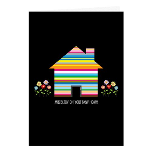 Mazel Tov on Your New Home Jewish Greeting Card