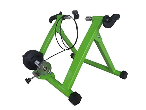 Green Magnet Steel Bike Bicycle Indoor Exercise Trainer Stand by BestValueDeals