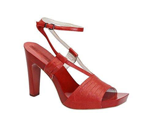 Jil Sander Sandalias de Vestir Para Mujer Rojo Rojo It - Marke Größe
