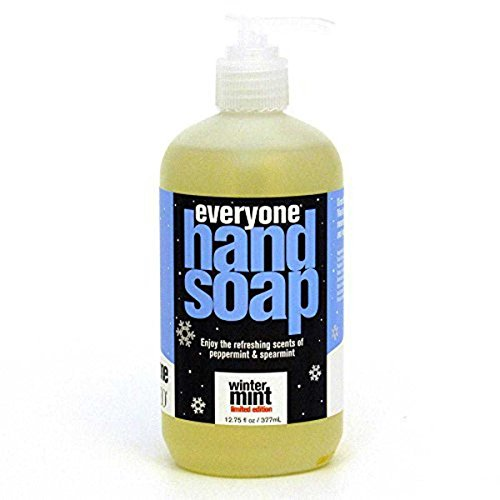 EO Products Natural Everyone Hand Soap Liquid, Winter Mint, 12.75 Ounce
