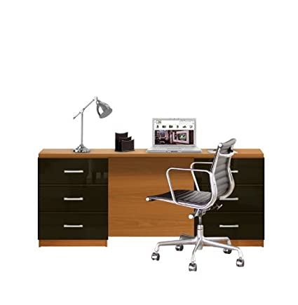 Amazoncom Lafayette Computer Desk Contemporary Foot Desk - 6 foot office table