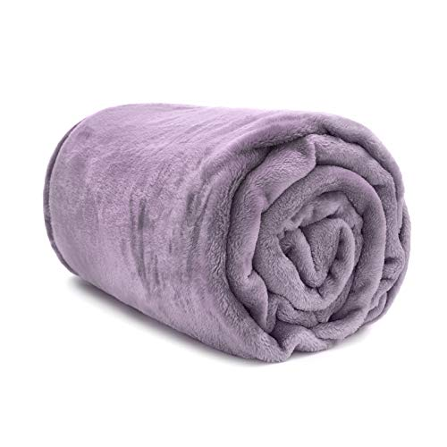 Buy purple throw blanket king