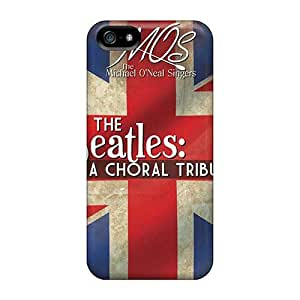 Scratch Protection Hard Cell-phone Cases For Iphone 5/5s With Allow Personal Design Beautiful The Beatles Pattern SherriFakhry