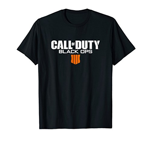 - Call of Duty: Black Ops 4 Logo T-Shirt