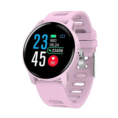 SENBONO Smart Watch 1,30 Zoll IP68 wasserdicht BT4.0 Fitness Schrittzähler Kalorien Herzfrequenz Schlaf Stoppuhr Multi…