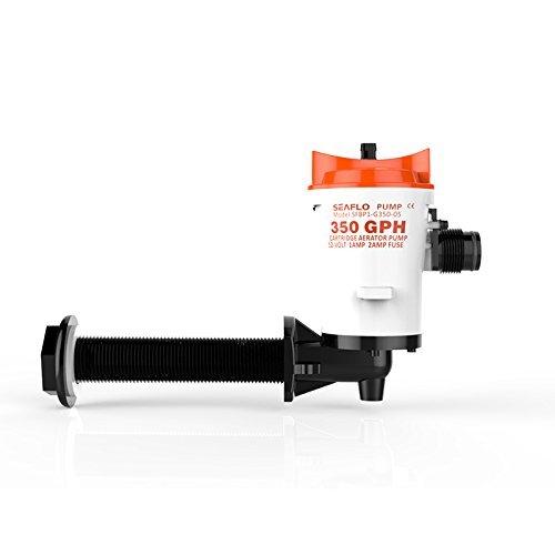 SEAFLO 90 Degree Threaded Livewell Pump 12V 350GPH 1.0A Submersible Bilge Pumps FUAN AIDI ELECTRIC CO. LTD