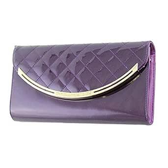 Venus Accessorie V1012168 Clutch for Women - Polyurethane, Purple