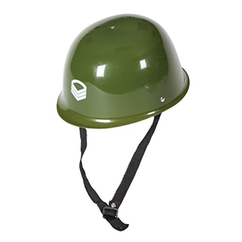 [Army Helmet Hat Fancy Dress Adult One size Costume] (Military Hat Costumes)