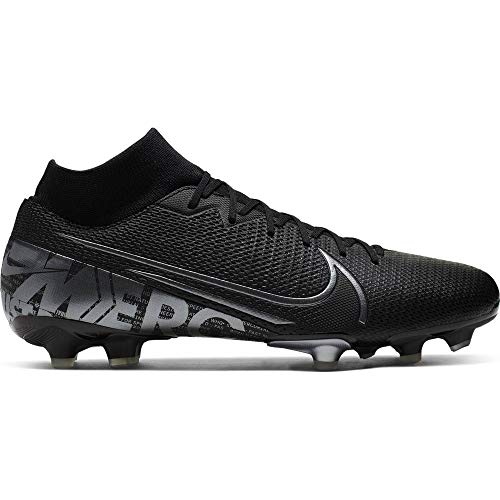 Nike Mercurial Superfly 7 Academy Firm Ground Soccer Cleats Black/Cool Grey