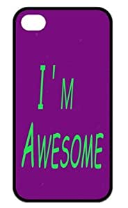 iPhone 4,iPhone 4s Cover - I'm awesome Back Cases
