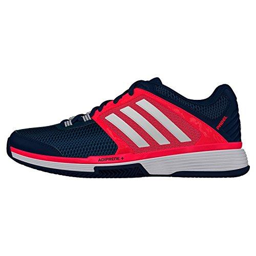 adidas Barricade Club W Padel, Zapatillas de Running para Mujer, Azul/Gris/Rojo (Azumin/Plamet/Rojimp), 40 2/3 EU: Amazon.es: Zapatos y complementos