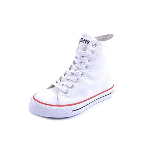 CAFèNOIR , Damen Sneaker weiß Bianco