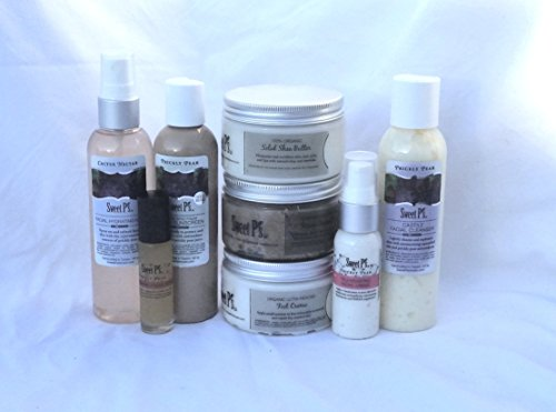 Prickly Pear Honey - Sweet P's Luxury Organic Skincare Prickly Pear Anti-Aging Full Size Facial Set