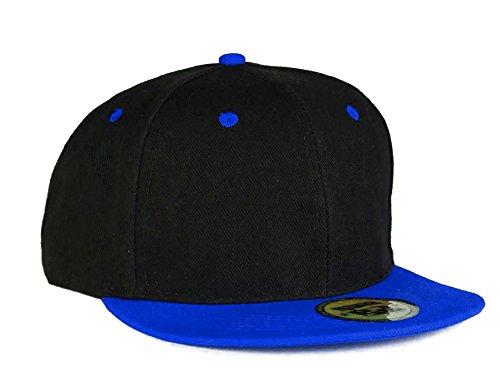 Nero colori da baseball a con Molti piatto Abc Red 4sold chiusura Cap Snapback Berretto blu schermo Black regolabile scatto Tpn0Y