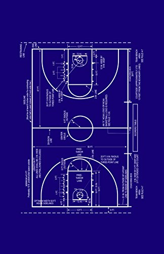 """Framable Patent Art PAPSSP75MB The Original Ready to Frame Décor Vintage Basketball Coach Sidelines Patent Art Poster Print, 11"""" x 17"""", Dark Blue from Framable Patent Art"""